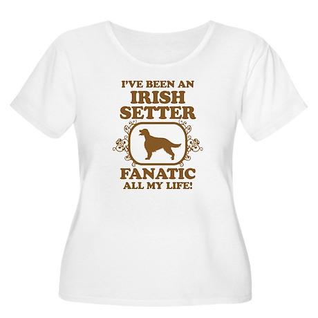 Irish Setter Women's Plus Size Scoop Neck T-Shirt