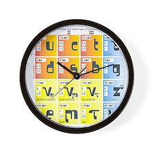 Cute Particles Wall Clock