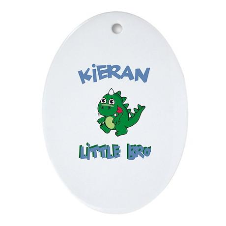 Kieran - Dinosaur Brother Oval Ornament