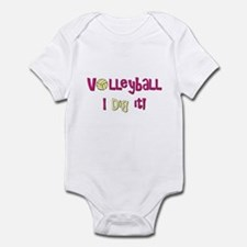 Volleyball .. I Dig It! Infant Bodysuit