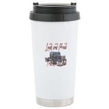 Loud and Proud Trucker Dad Travel Mug