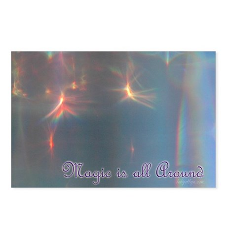 Magic is All Around Postcards (Package of 8)