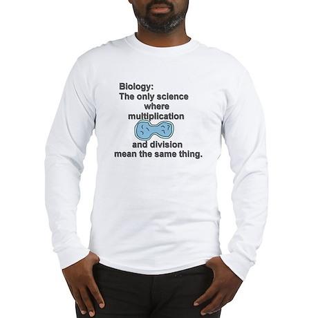 Biology Long Sleeve T-Shirt
