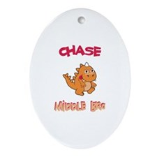 Chase - Middle Brother Oval Ornament