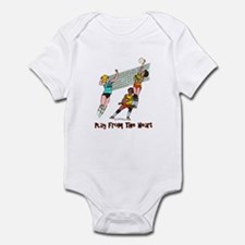 Volleyball Heart Infant Bodysuit