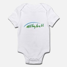 Volleyball Beach Infant Bodysuit