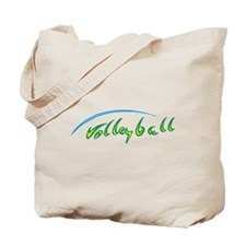Volleyball Beach Tote Bag