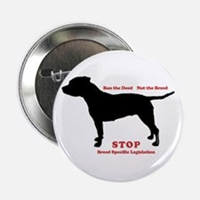 Ban the Deed Not the Breed Button