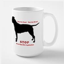 STOP BSL Large Mug