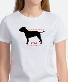 STOP BSL Women's T-Shirt (2 sided)