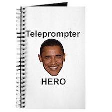 Obama Teleprompter Hero Journal
