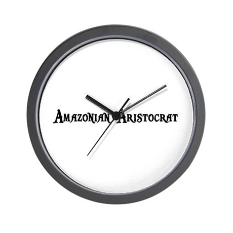 Amazonian Aristocrat Wall Clock
