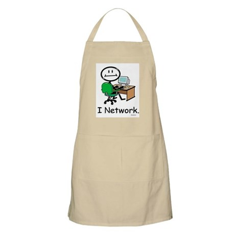 BusyBodies Computer Networking BBQ Apron