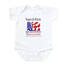 Imagine no Liberals Infant Bodysuit
