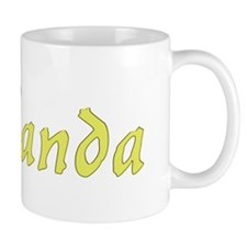 Willanda in Gold - Mug