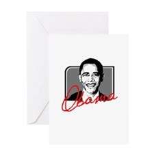 Obama Autograph Greeting Card