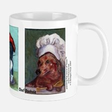 Dachshund in Hat Mug