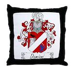 Damiani Family Crest Throw Pillow