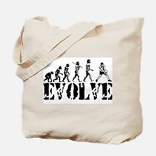 Volleyball Evolution Tote Bag