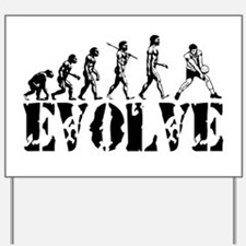 Volleyball Evolution Yard Sign