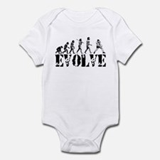 Volleyball Evolution Infant Bodysuit