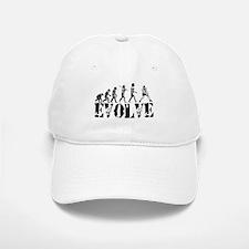Volleyball Evolution Baseball Baseball Cap