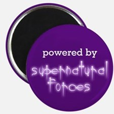 Powered By Supernatural Forces Magnet