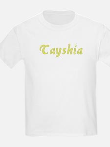 Tayshia in Gold - T-Shirt