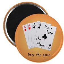 Play with four Aces Magnet