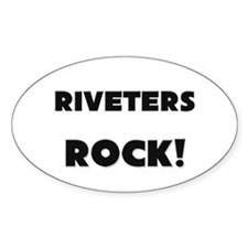 Riveters ROCK Oval Decal