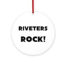 Riveters ROCK Ornament (Round)