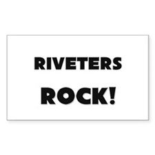 Riveters ROCK Rectangle Decal