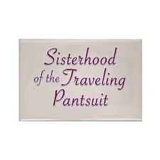 Sisterhood of the Traveling P Rectangle Magnet