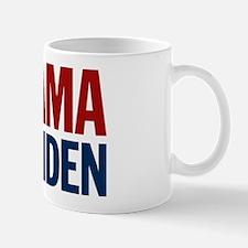 Obama-Biden Bold Type R/B Mug