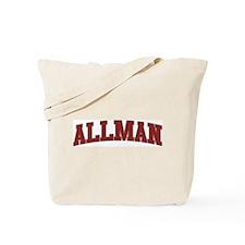 ALLMAN Design Tote Bag