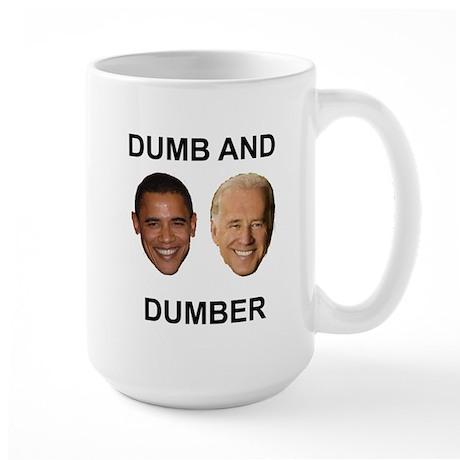 Obama and Biden Large Mug