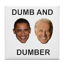 Obama and Biden Tile Coaster