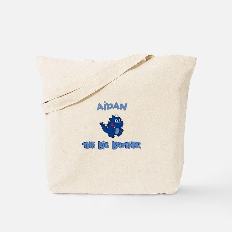 Aidan - Dino Big Brother Tote Bag