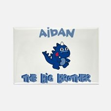Aidan - Dino Big Brother Rectangle Magnet