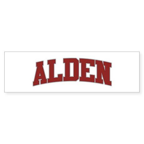 ALDEN Design Bumper Sticker