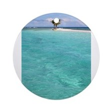 Cute Paradise Ornament (Round)