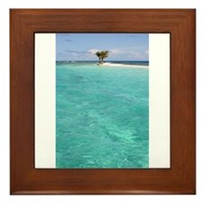 Cute Darrin Framed Tile