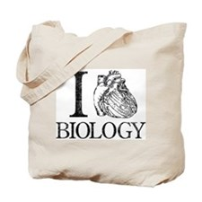 I Heart Biology Tote Bag