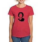 Michelle Obama screenprint Women's Dark T-Shirt