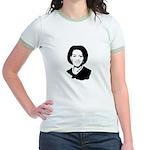 Michelle Obama screenprint Jr. Ringer T-Shirt