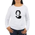 Michelle Obama screenprint Women's Long Sleeve T-S