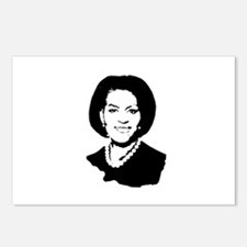 Michelle Obama screenprint Postcards (Package of 8