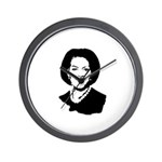 Michelle Obama screenprint Wall Clock