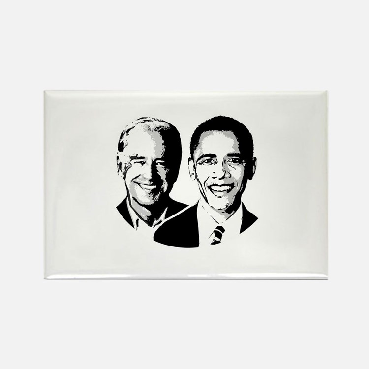 OBAMA BIDEN 2008 Rectangle Magnet