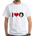 I Heart Michelle Obama White T-Shirt
